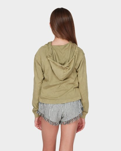 2 TEEN LOOSEN UP LONG SLEEVE TEE Green 5595071 Billabong