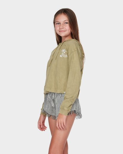 1 TEEN LOOSEN UP LONG SLEEVE TEE Green 5595071 Billabong