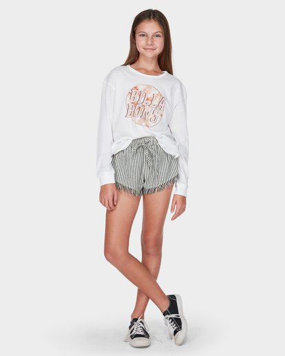 3 TEEN COOL IT LONG SLEEVE TEE White 5595072 Billabong
