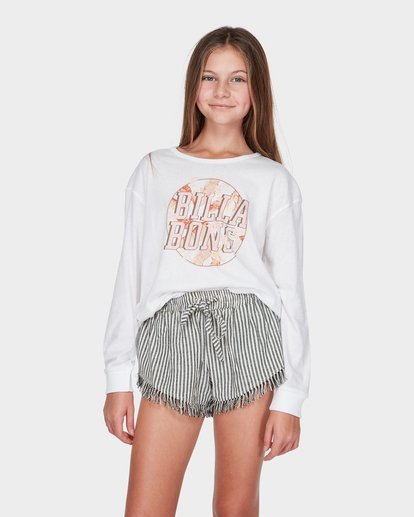 0 TEEN COOL IT LONG SLEEVE TEE White 5595072 Billabong