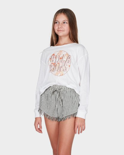 1 TEEN COOL IT LONG SLEEVE TEE White 5595072 Billabong