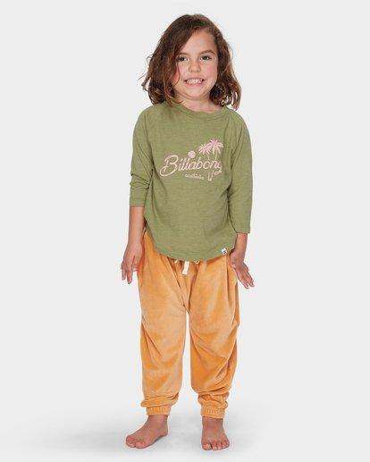 0 Girls Day Tripper Long Sleeve Tee Green 5595074 Billabong