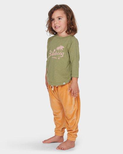 1 Girls Day Tripper Long Sleeve Tee Green 5595074 Billabong