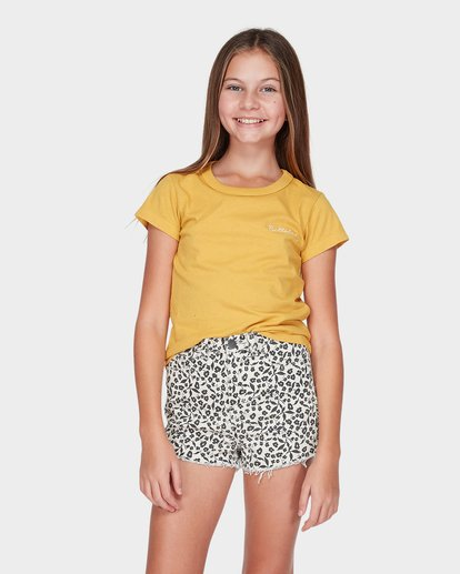 0 Teen Ariella Short White 5595271 Billabong