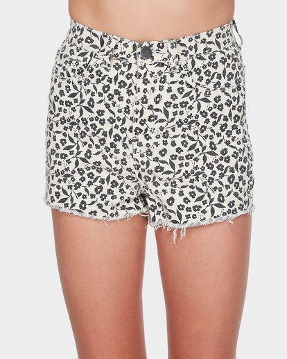 3 TEEN ARIELLA SHORT White 5595271 Billabong