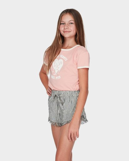 1 TEEN SUN STRIPED SHORT Black 5595273 Billabong