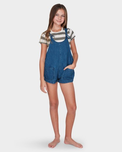 3 TEEN DARE TO DREAM PLAYSUIT Blue 5595501 Billabong
