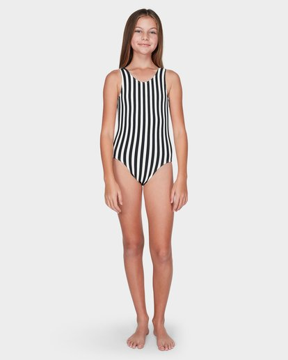 3 TEEN SUN STRIPED ONE PIECE Black 5595551 Billabong