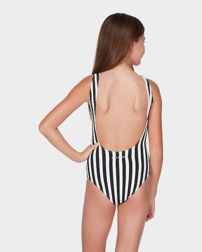 2 TEEN SUN STRIPED ONE PIECE Black 5595551 Billabong