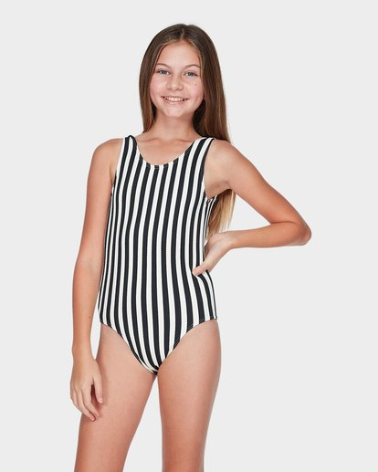 0 TEEN SUN STRIPED ONE PIECE Black 5595551 Billabong