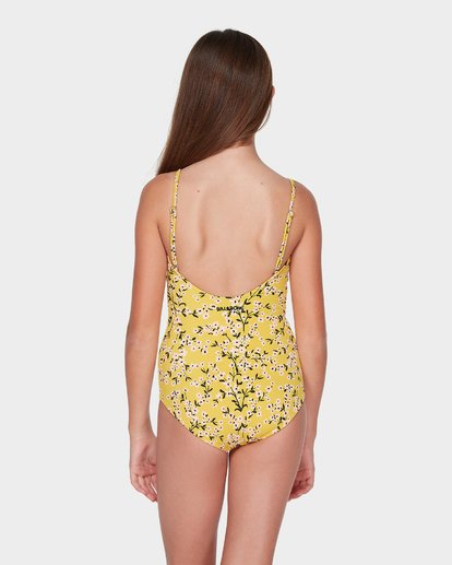 2 TEEN GOLDEN SKY ONE PIECE Yellow 5595553 Billabong