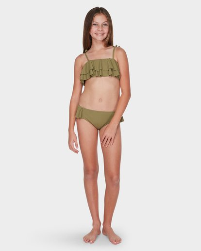 3 TEEN CASUARINA BIKINI SET Green 5595556 Billabong