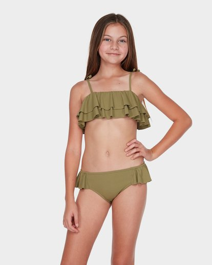 0 TEEN CASUARINA BIKINI SET Green 5595556 Billabong