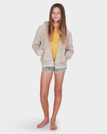 3 TEEN CUDDLED UP HOOD Brown 5595735 Billabong