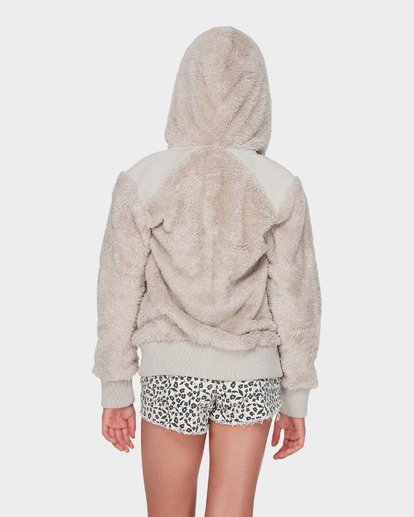 2 TEEN CUDDLED UP HOOD Brown 5595735 Billabong