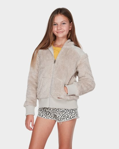 0 TEEN CUDDLED UP HOOD Brown 5595735 Billabong
