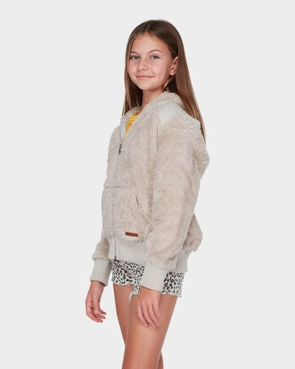 1 TEEN CUDDLED UP HOOD Brown 5595735 Billabong