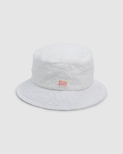 1 Lacey Hat White 5607306 Billabong
