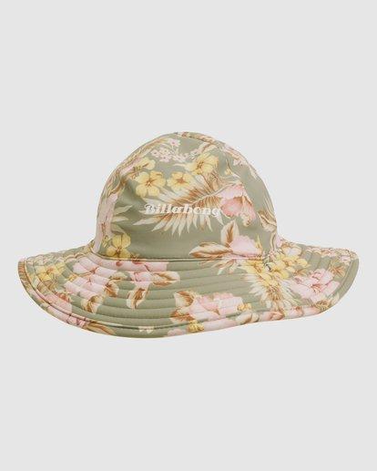 0 Lola Swim Hat Green 5617301 Billabong
