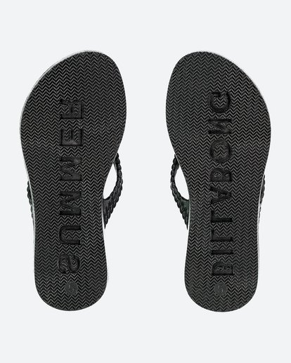 2 Kicks Thongs Black 5661853 Billabong