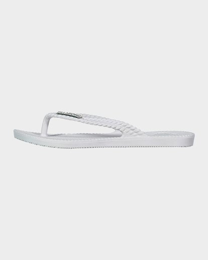 1 Kicks Thongs White 5661853 Billabong