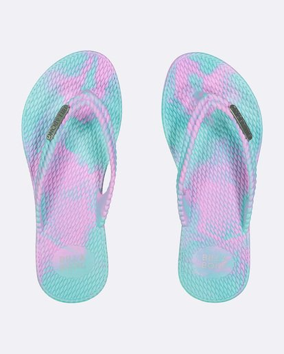 0 TEEN KICKS MARBLE THONG Blue 5661854 Billabong