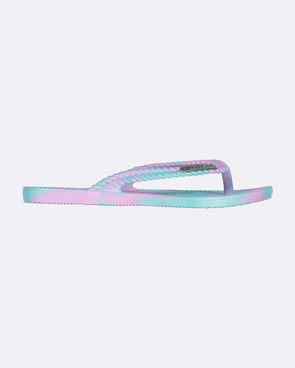 1 TEEN KICKS MARBLE THONG Blue 5661854 Billabong