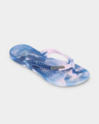 1 KICKS MARBLE THONG Purple 5661854 Billabong