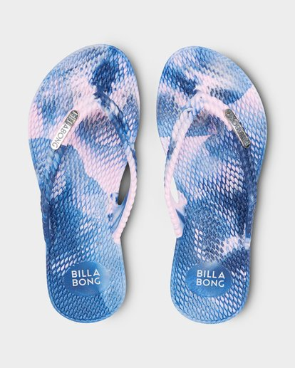 0 KICKS MARBLE THONG Purple 5661854 Billabong