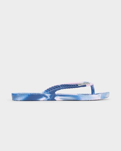 3 Kicks Marble Thongs Purple 5661854 Billabong