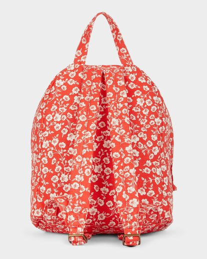 2 Poppy Floral Backpack Red 5691002 Billabong