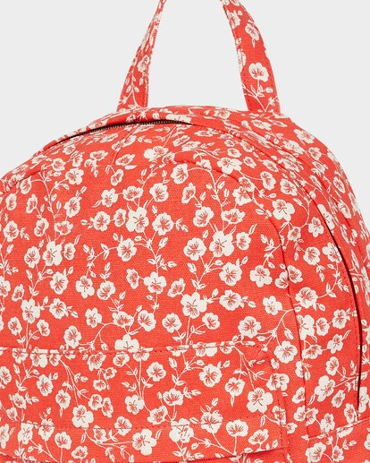 3 Poppy Floral Backpack Red 5691002 Billabong