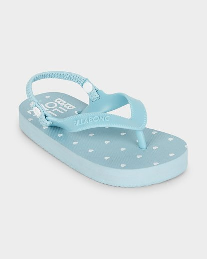 1 Girls Little Heart Thongs Blue 5691801 Billabong