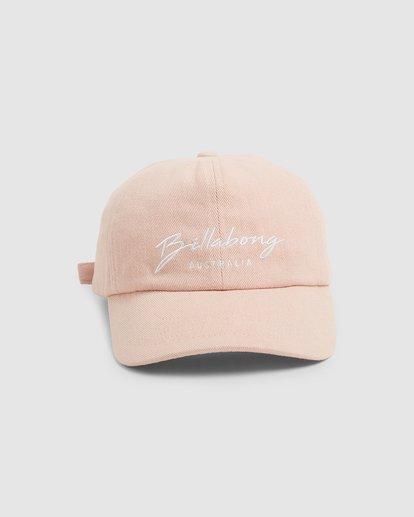 1 Deep Dive Cap Pink 5692303 Billabong