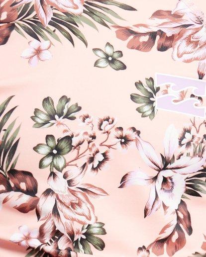 3 Summer Jam Long Sleeve Rash Vest Pink 5703001 Billabong