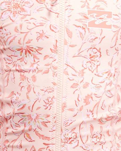 3 Wave Gypsy Onepiece Rash Vest Pink 5703005 Billabong