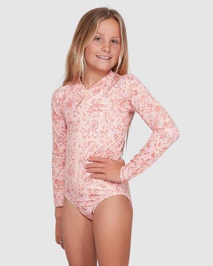 1 Wave Gypsy Onepiece Rash Vest Pink 5703005 Billabong
