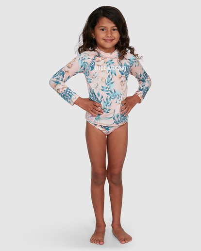 0 Free Spirit Rash Vest Set Pink 5703008 Billabong