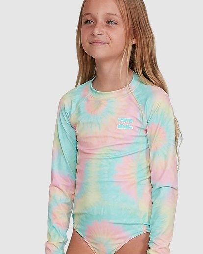 4 Tie Dye Love One Piece Rash Vest Grey 5704001 Billabong