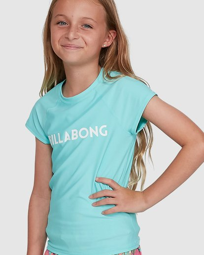 4 Dancer Rash Vest Blue 5704002 Billabong