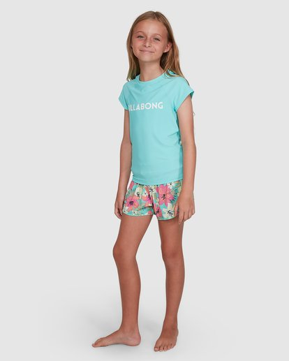 1 Dancer Rash Vest Blue 5704002 Billabong