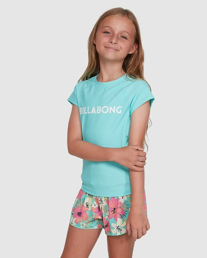 2 Dancer Rash Vest Blue 5704002 Billabong
