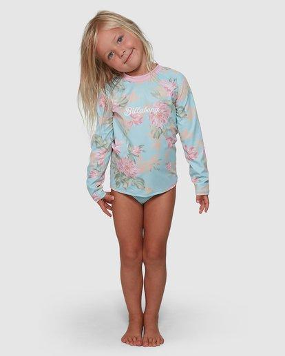 2 Nirvana Rash Vest Set Blue 5704008 Billabong
