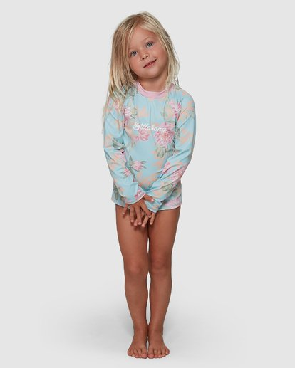 0 Nirvana Rash Vest Set Blue 5704008 Billabong