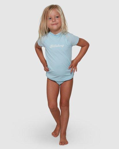 2 Surf Check Rash Vest Set Blue 5704010 Billabong