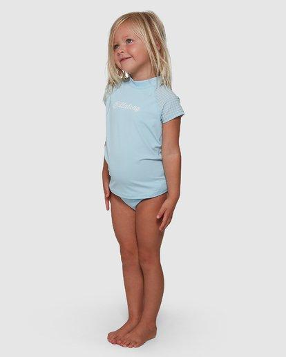 1 Surf Check Rash Vest Set Blue 5704010 Billabong