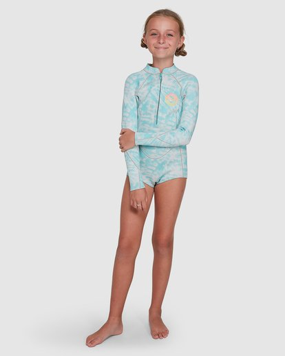 5 Teen Toddler Salty Dayz Spring Suit Blue 5704502 Billabong