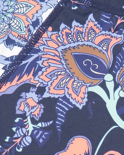 8 Gypsy Crop Long Sleeve Rashguard Blue 5707001 Billabong