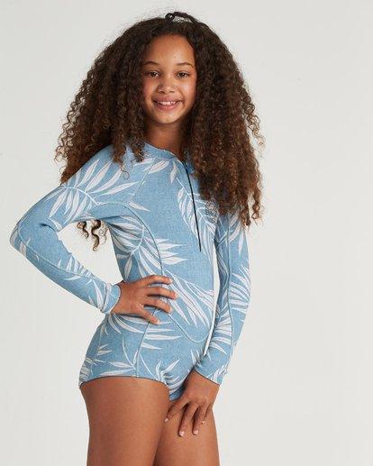 1 Teen Salty Dayz 2Mm Long Sleeve Springsuit Blue 5707500 Billabong
