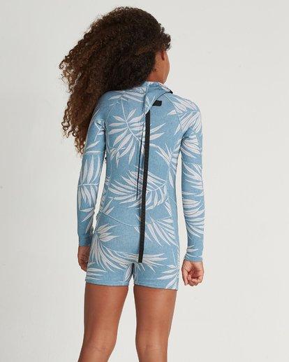 1 Teen Spring Fever 2Mm Long Sleeve Springsuit Blue 5707501 Billabong